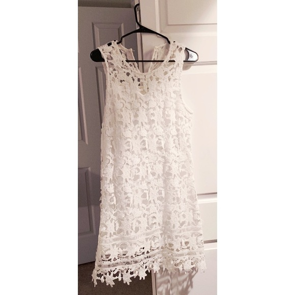 Francesca's Collections Dresses & Skirts - White Lace Dress